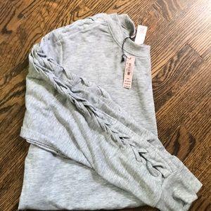 Victoria's Secret Side Stitch Lounge Sweatshirt M